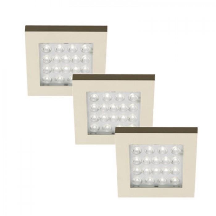 hera eq led keukenverlichting set van 3 24v hera eq led keukenverlichting 3 stuks. Black Bedroom Furniture Sets. Home Design Ideas