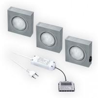 Box LED keukenverlichting set van: 3 - 12V